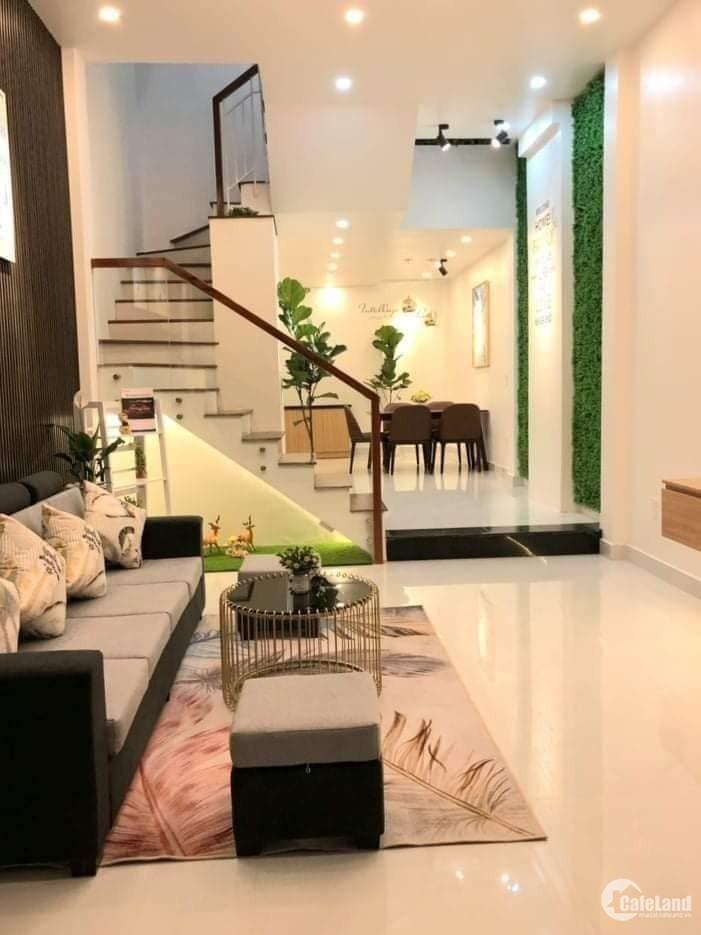 Nhà Trần Thị Nghỉ 57m2, 4 tầng full nội thất nhà đẹp lung linh, chỉ 5.9 tỷ TL