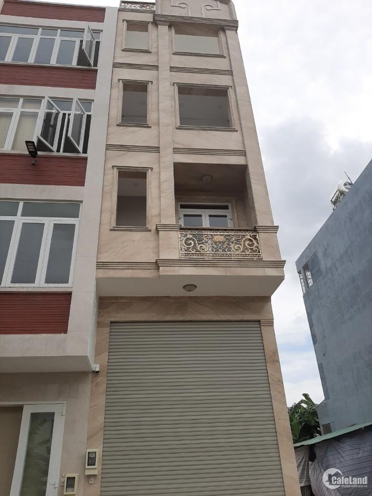 Bán nhà MT đường số 10A p.Bình An, Quận 2, 1 hầm, trệt, 4 lầu giá 14 tỷ TL