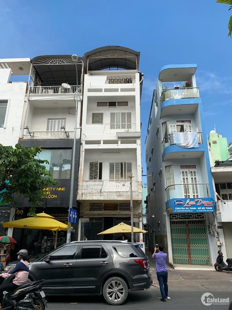 Chính chủ bán căn nhà góc 3 mặt tiền đường Nguyễn Đình Chiểu-Cao Thắng-Võ Văn Tầ