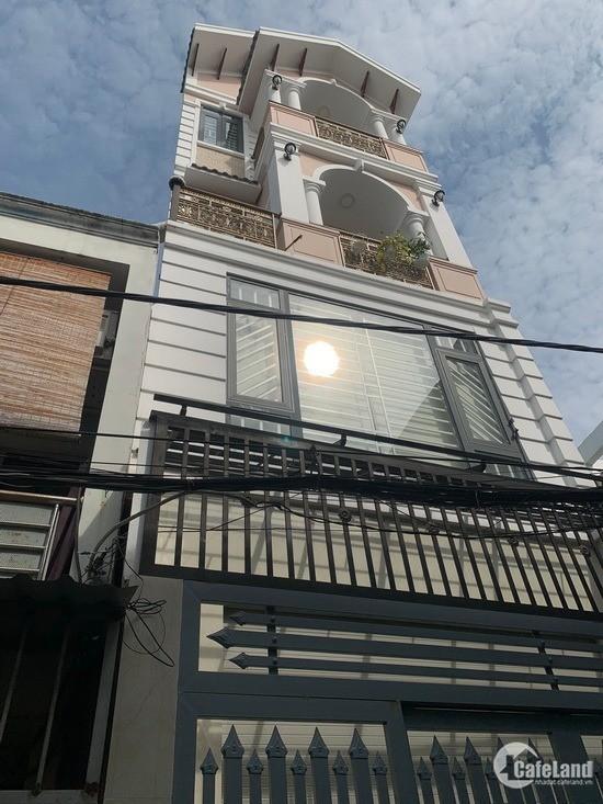 Nhà Phố Đẹp 3 Lầu Mặt Tiền Hẻm 3m Huỳnh Tấn Phát, Phường Phú Thuận, Quận 7