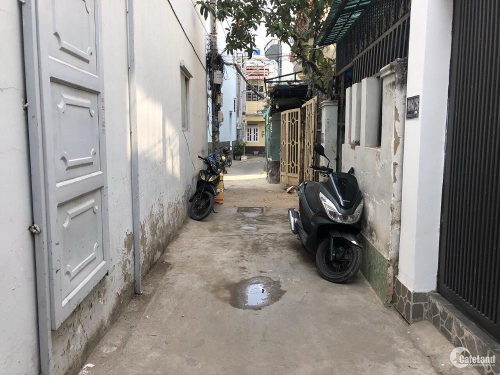 Bán GẤP nhà cấp 4 hẻm 51 Phạm Văn Chiêu, P14, Gò Vấp, 3.8x10m, 2.85 tỷ