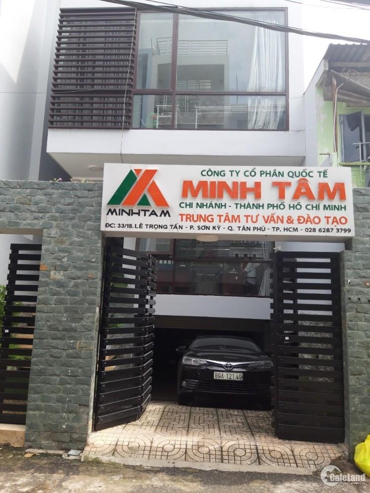 Chính chủ bán nhà riêng hẻm xe tải Đ.Lê Trọng Tấn, P.Sơn Kỳ, Q.Tân Phú