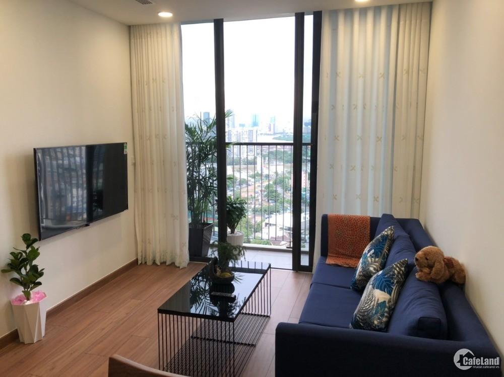 Cho Thuê Căn 2 Phòng Ngủ View Thoáng, Tầng Cao, Eco Green Sài Gòn Giá Tốt