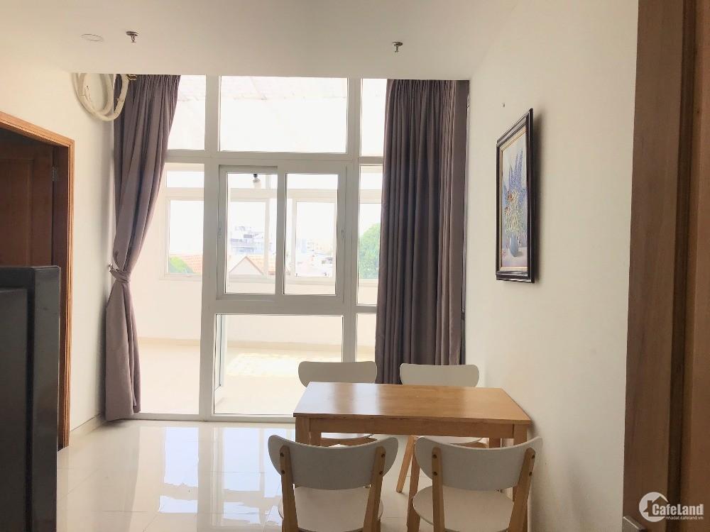 Cho thuê căn hộ 1 phòng ngủ có ban công giá chỉ 7.5tr gần công viên Lê Thị Riêng