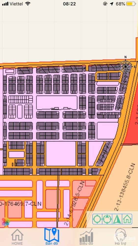 BÁN LÔ ĐẤT SỔ ĐỎ KHU ĐÔ THỊ SÂN BAY CENTURY CITY GIÁ 17 TR/M2 TẶNG 1 LƯỢNG VÀNG
