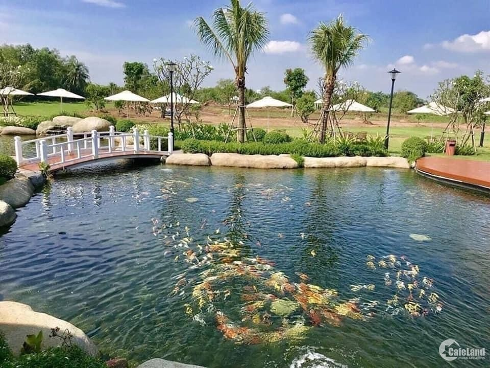 Độc đáo biệt thự vườn ven sông quận 9, rộng hơn 1400 m2 giá 21 tỷ, tiện ích đầyủ
