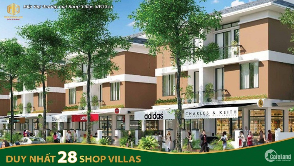 28 lô shop villa đẹp nhất mặt bằng 3241 khu đô thị đông hương tp thanh hóa