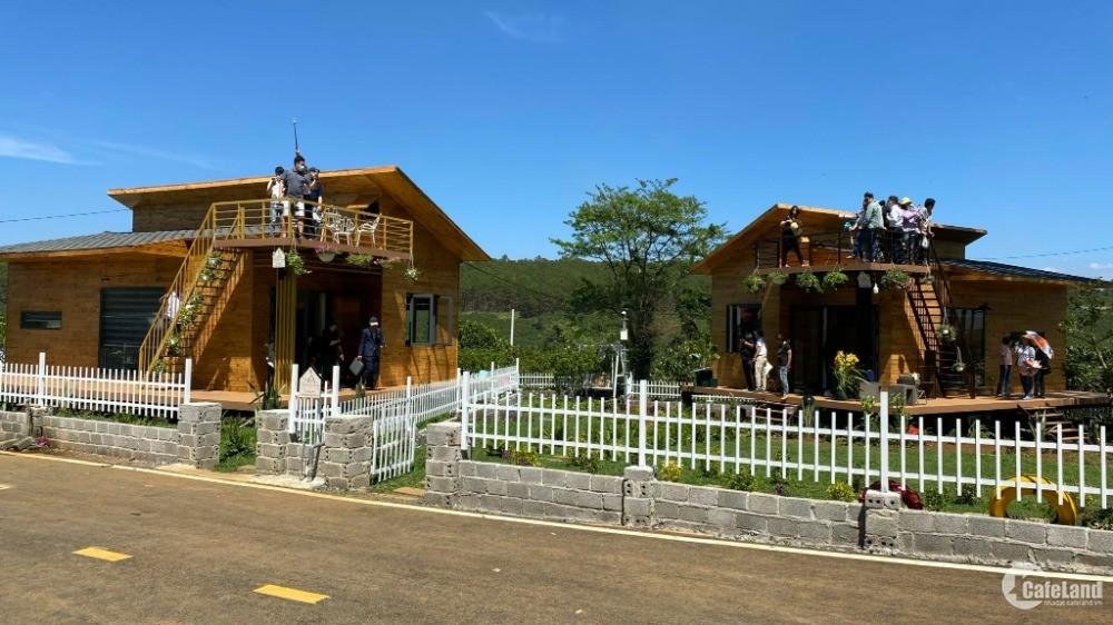 Nhà vườn nghỉ dưỡng hiện đang hot nhất thị trường Bảo Lộc