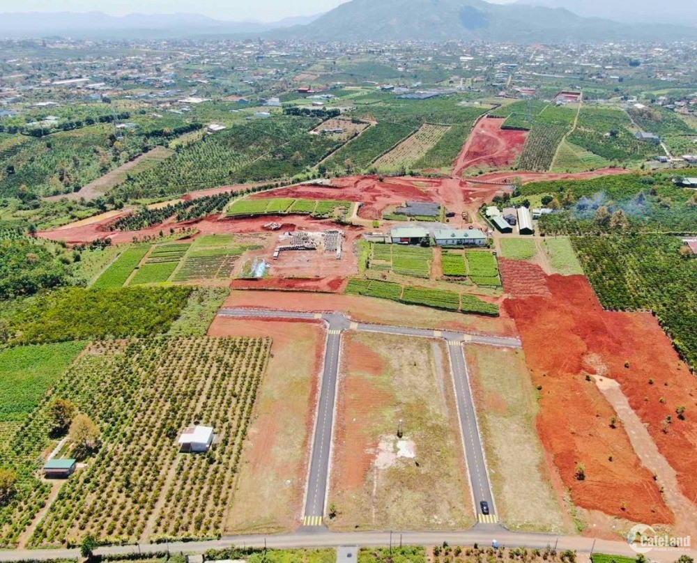 Đất nền BT TP Bảo Lộc, sổ hồng riêng full thổ cư, xây dựng tự do. Chỉ 6tr8/m2