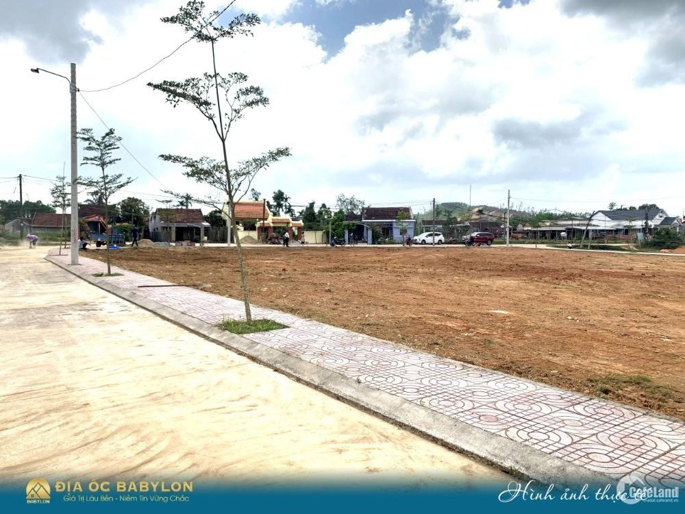 chỉ 480tr sở hữu 100m2 đất đẹp gần KCN Vsip Q,Ngãi