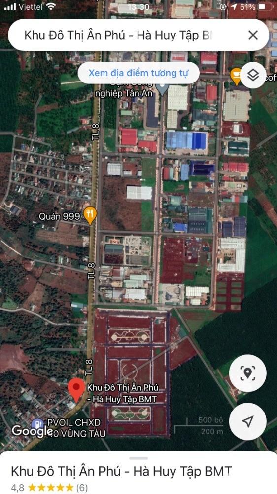 Chỉ từ 668tr Sở hữu ngay Lô đất Biệt thự tại TP. Buôn Ma Thuột - KĐT Ân Phú