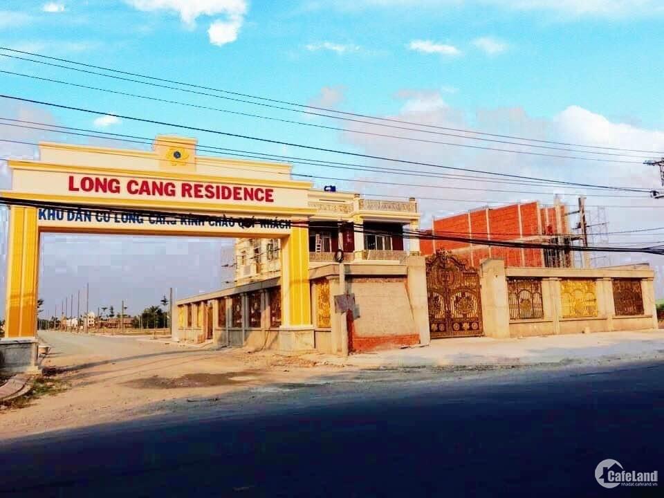 Đất nền KDC Long Cang - KCN Thuận Đạo - Thị trấn Bến Lức