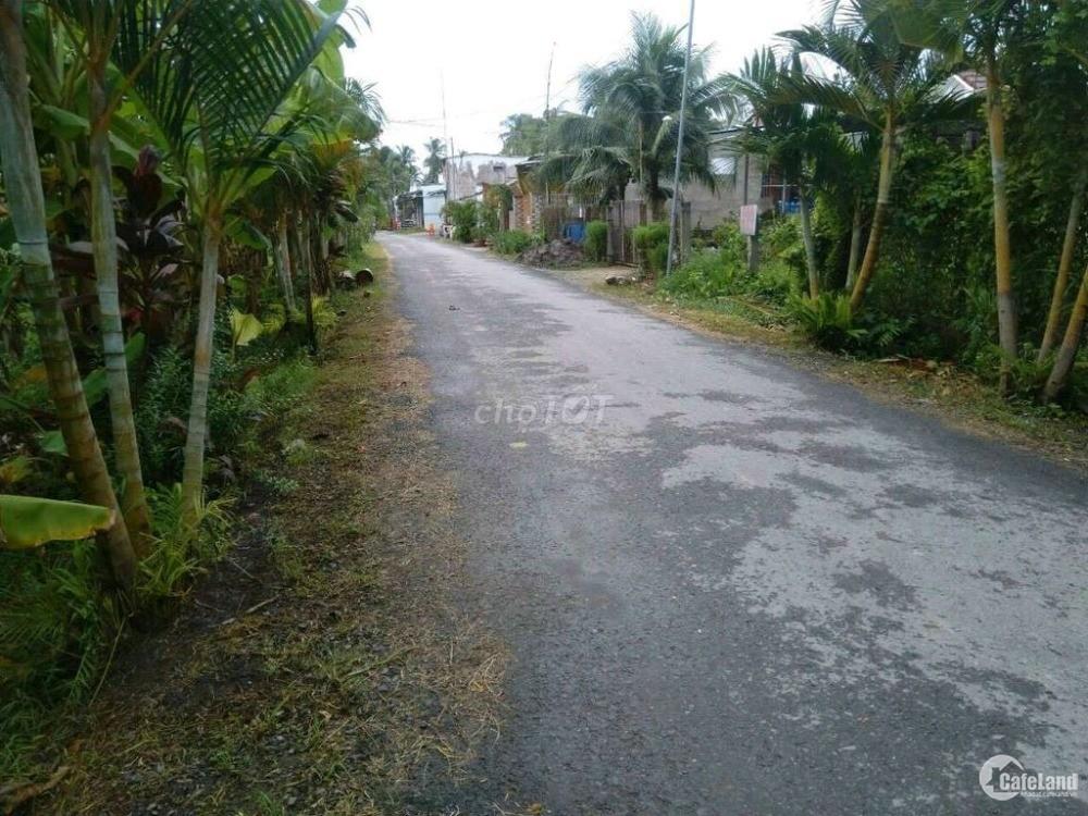 Đất mặt tiền đường Nguyễn Huệ nối dài Châu Thành, Bến Tre diện tích 234 m2