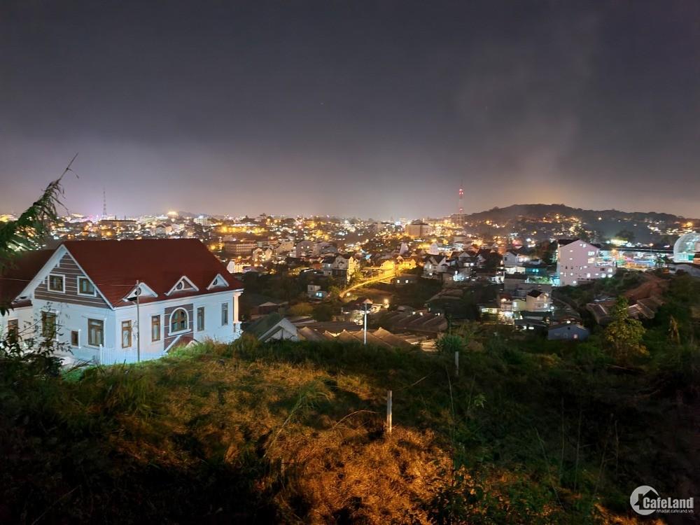 Bán lô đất xây khách sạn 4 * view toàn thành phố đường Đống Đa thành phố Đà Lạt