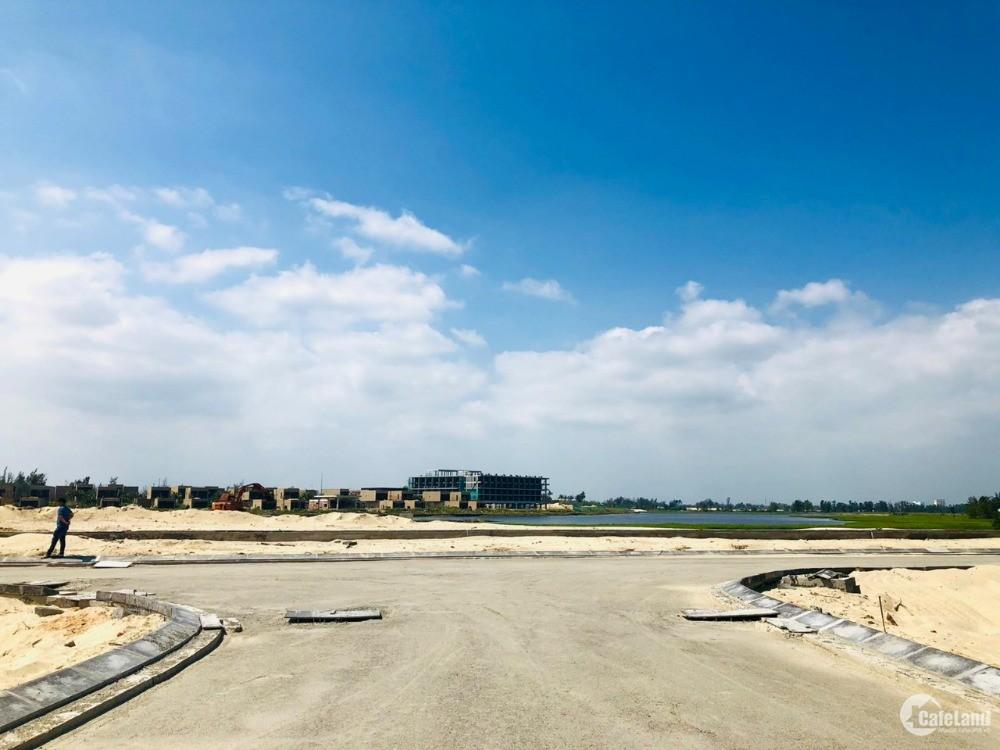 Dự án mới ven sông Cổ Cò- Hạ tầng 60%- giá 1.24 tỷ/lô