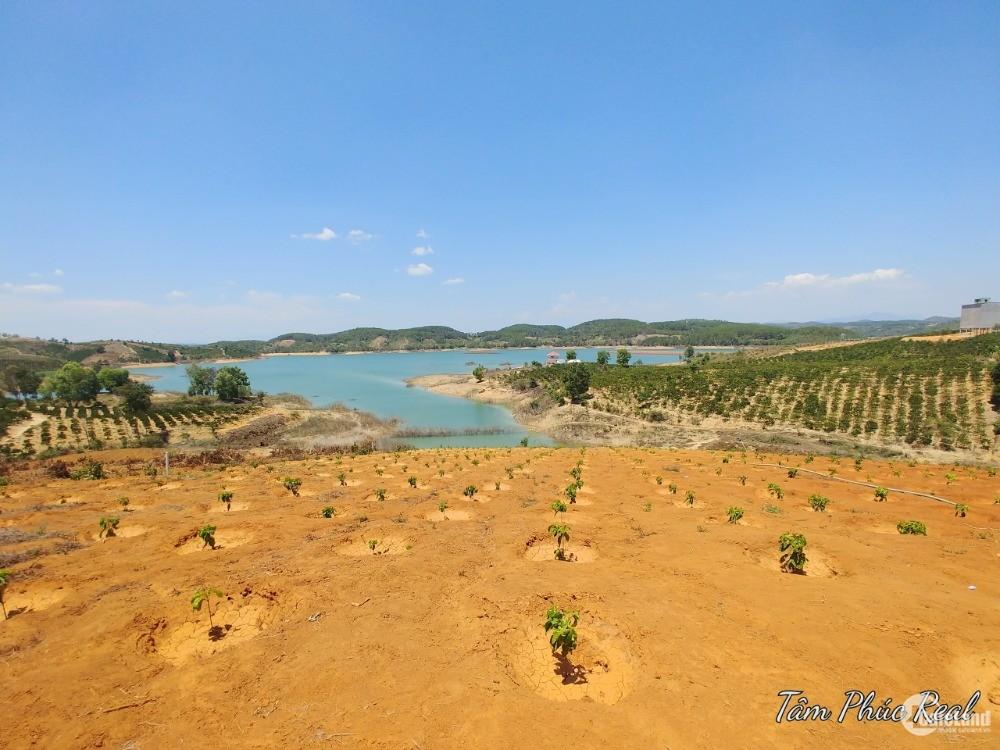 Bán 11 sào đất nghỉ dưỡng view hồ Đại Ninh,gần UBND xã Tà Hine,360 triệu/sào