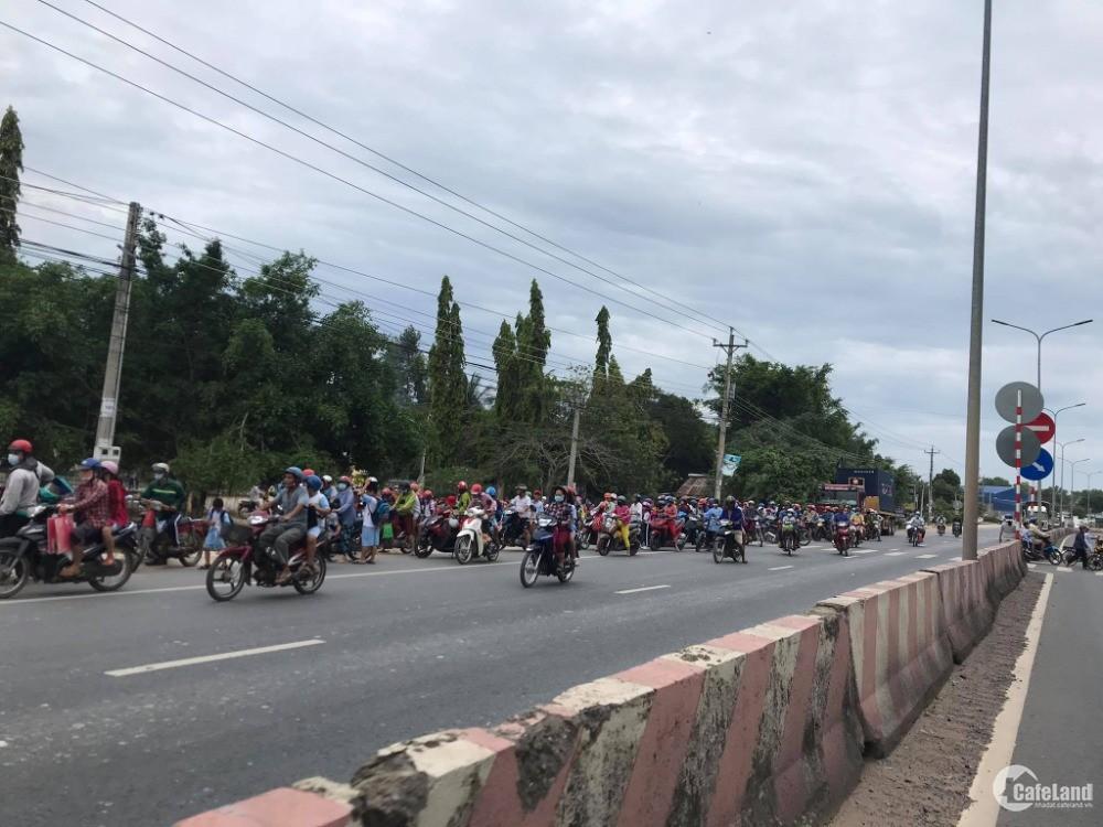 Đất sổ hồng riêng gần KCN Phước Đông Tây Ninh 5x25m sổ sẵn xây tự do