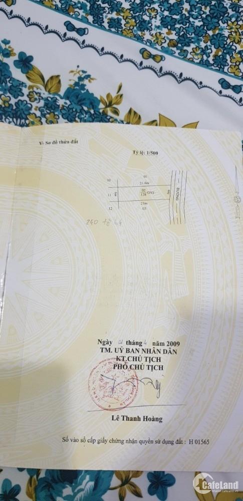 Bán gấp 6x21 thổ cư 100%, giá 950tr, hướng ĐB, cách biển chỉ 700m.