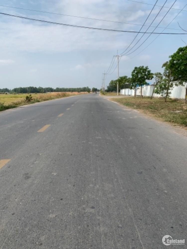 Đất mặt tiền Võ Văn Điều 25*70 thổ cư 1248m.