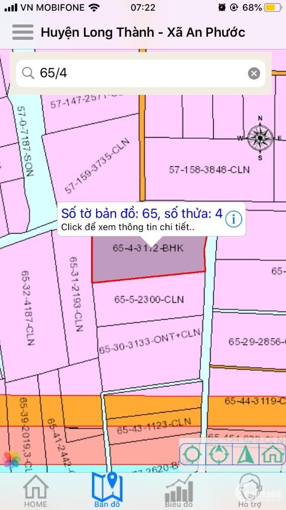 Cần tiền lo việc gia đình, muốn bán đất, chính chủ sổ đỏ diện tích 3172m2