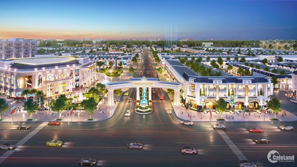 Century City cửa ngõ sân bay long thành suất ngoại giao 2 mặt tiền, tặng 20 chỉ