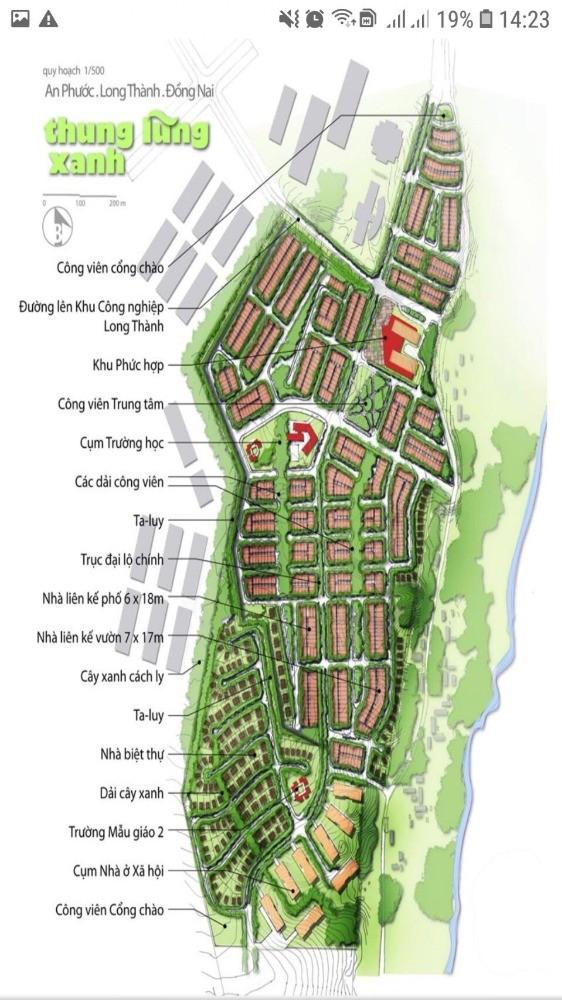 Bán đất thung lũng xanh ngay QL51- xã An Phước- đường 16m, giá 15tr/m