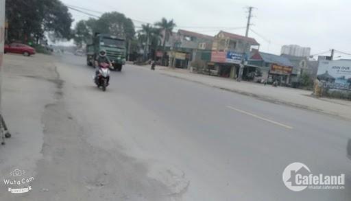 Đất gần cổng KCN Yên Sơn Bắc Lũng, mặt đường quốc lộ. Giá từ 1.7 tỷ