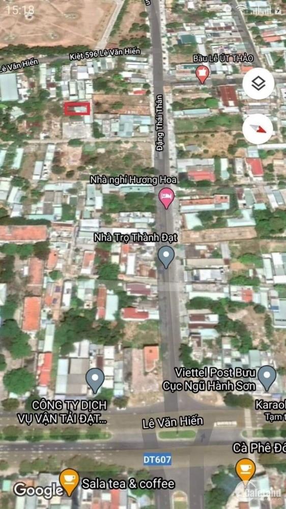 Bán đất 2 mặt kiệt Đặng Thái Thân,Hòa Hải ,dt 115m2, giá 2ty2, lh 0768456886