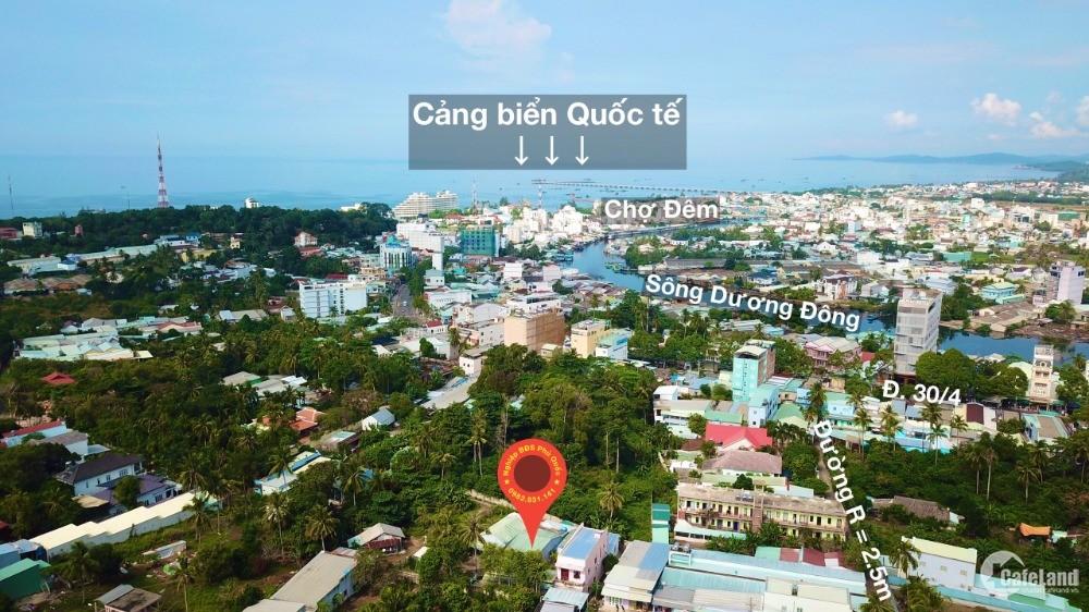 Bán mảnh đất 395m tại 30/4 TP Phú Quốc