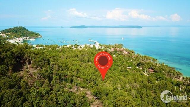 Bán 13 công đất sổ đỏ Gành Dầu Phú Quốc xây resort!