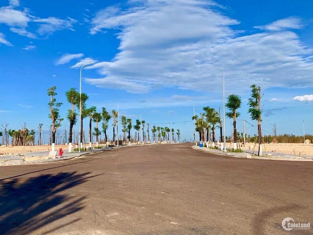 Cần bán lô đất biển sổ đỏ Nhơn Hội Quy Nhơn chỉ 1.4 tỷ nằm trong khu đô thị mới