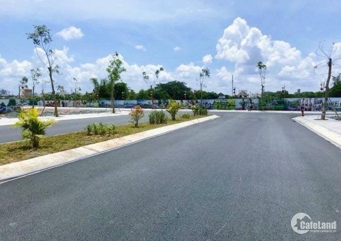 Đất MT đường 12m, 100m2 thổ cư, 7,5tr/m2, Sổ sẳn, trung tâm TX Phú Mỹ