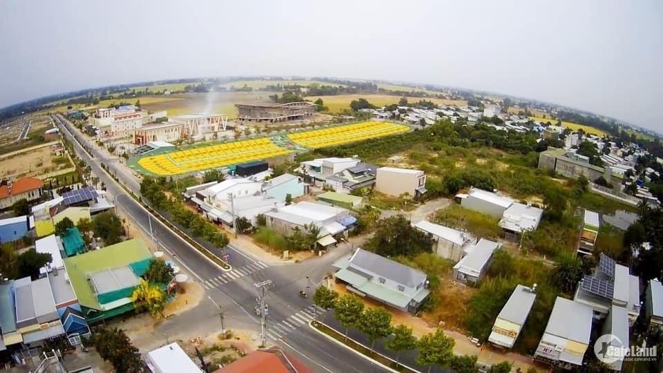 Bán Cặp Nền Góc Khu Dân Cư Thoại Sơn, Kế Bên Coopmart, Đối Nhà Văn Hóa