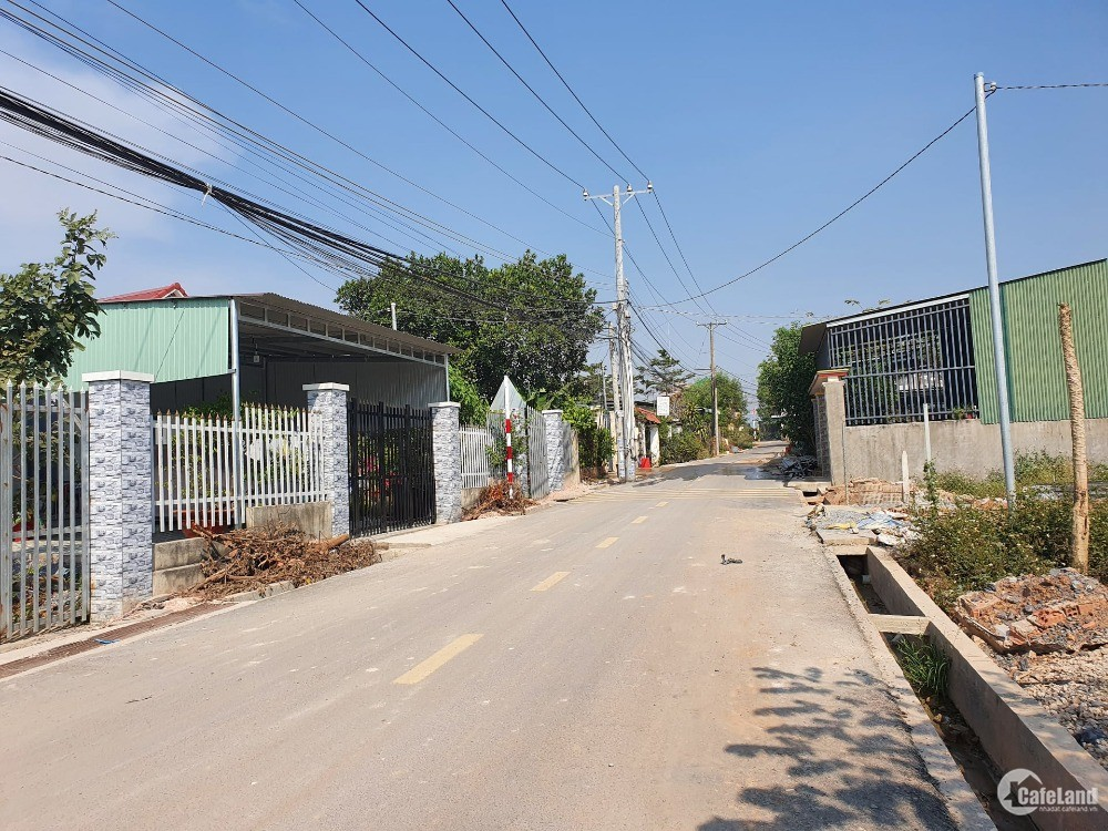 Đất nền liền kề KCN Giang Điền, sổ hồng giá 450 triệu