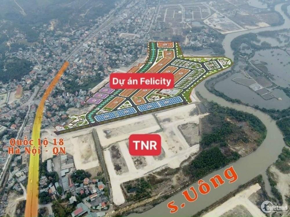 Đất nền Uông Bí, QN, dự án TNR, giá cam kết trực tiếp CĐT