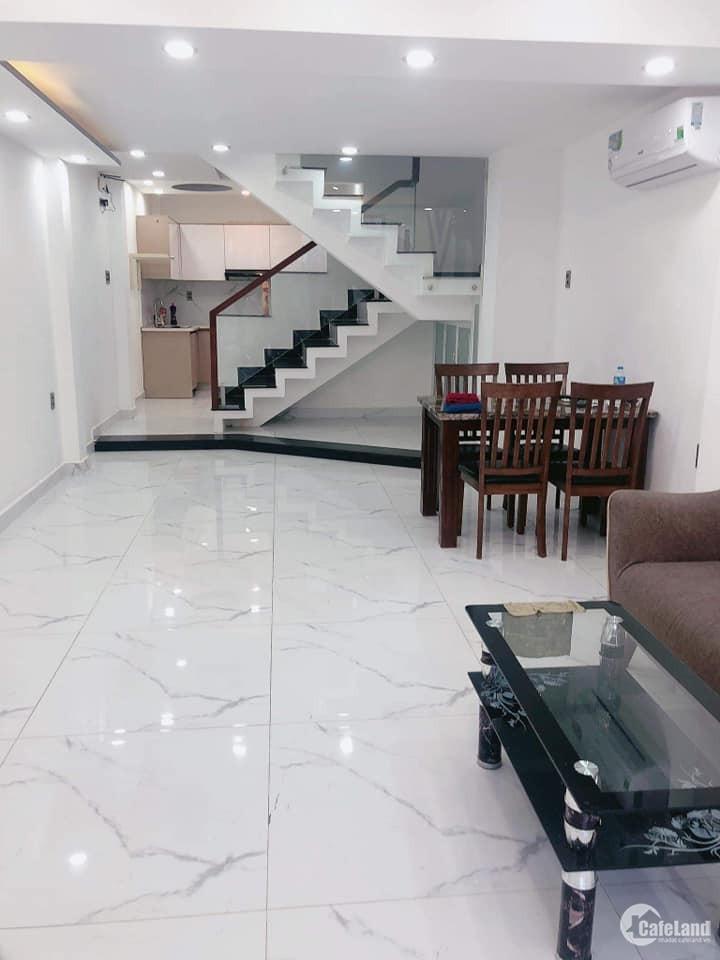 Bán gấp nhà Hẻm 173 Khuông Việt quận Tân Phú 56m2 Hẻm Xe Hơi 3 tầng cao cấp