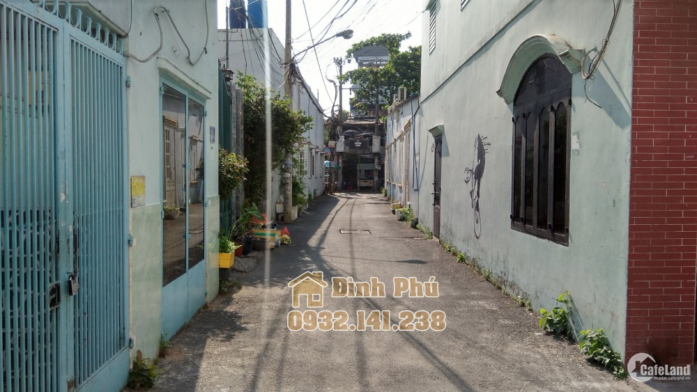 Bán nhà hẻm đường Gò Dầu, Tân Quý, quận Tân Phú, DT: 4.25x10.6 Giá 4.75 Tỷ
