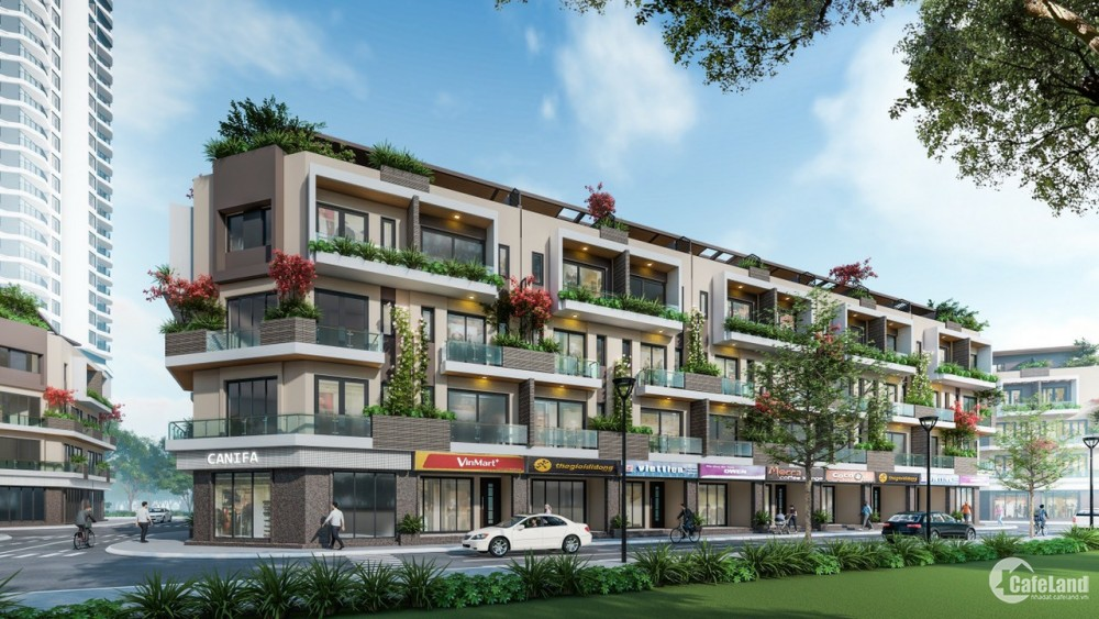 Nhà liền kề Hancom Mall Ninh Thuận