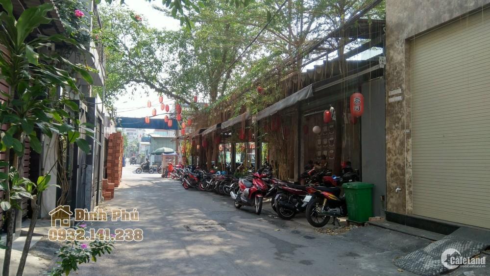 Bán đất hẻm đường Tân Quý, quận Tân Phú hẻm kinh doanh sầm uất DT: 4x20 giá 7.1