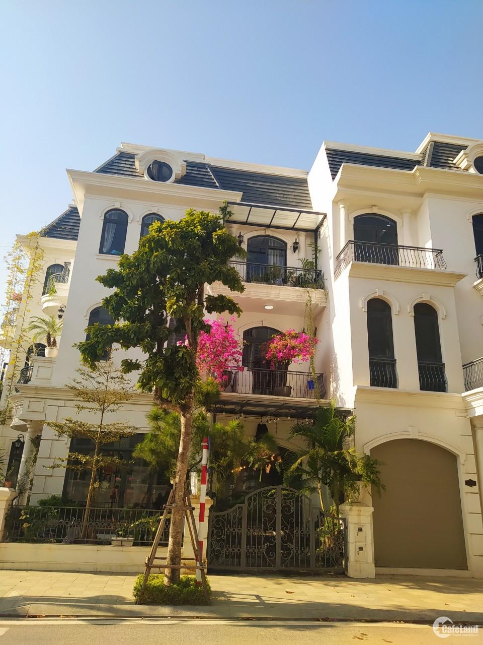 Bán căn biệt thự vị trí đẹp nhất phân khu Hoa Hồng Vinhome Star City Thanh Hóa