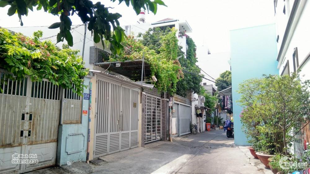 Bán nhà nát đất làm biết thự hẻm 7m đường Lê Thúc Hoạch, quận Tân Phú DT 8x19