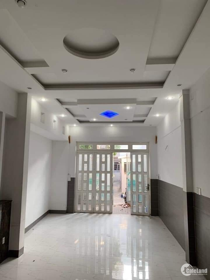 Bán nhà Luỹ Bán Bích Tân Phú 83m2, HẺM Ô TÔ ĐỔ CỬA, Dài 18m giá chỉ 6 tỷ 2