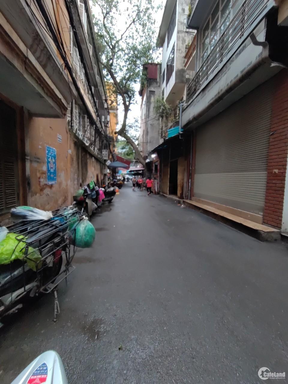 Bán nhà mặt ngõ KD Nguyễn Trãi, thoáng vĩnh viễn, 51m2, 5 tầng, MT 5.5m, giá