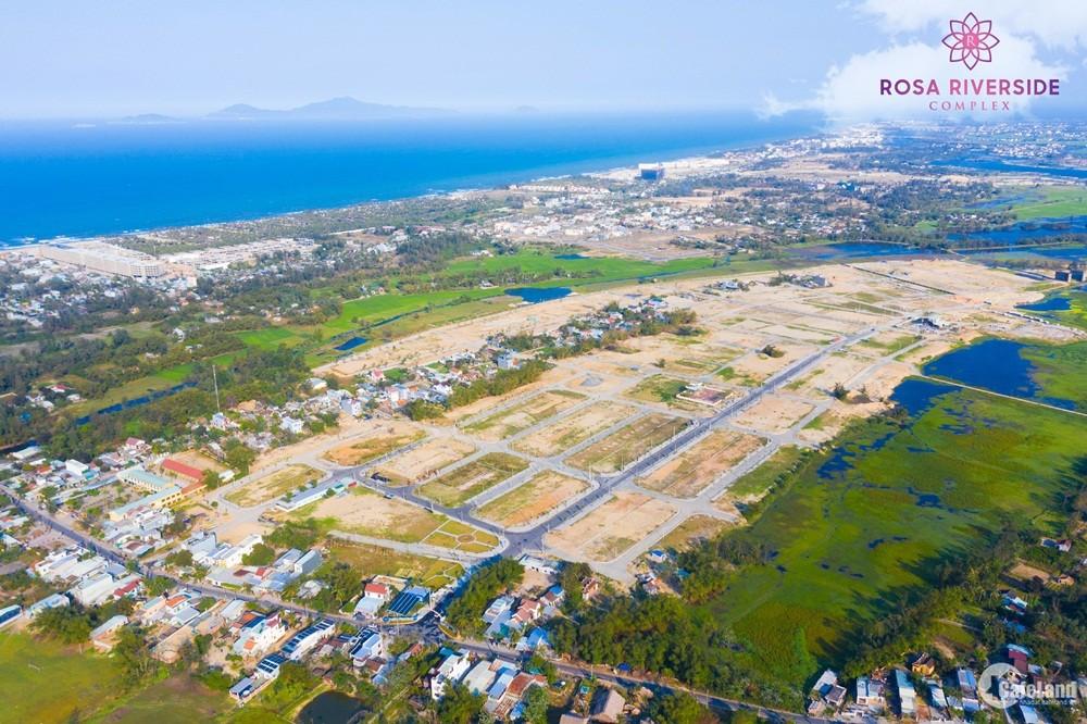 Những Lô cuối cùng của Rosa Riverside Complex, đất nền Điện Bàn Quảng Nam