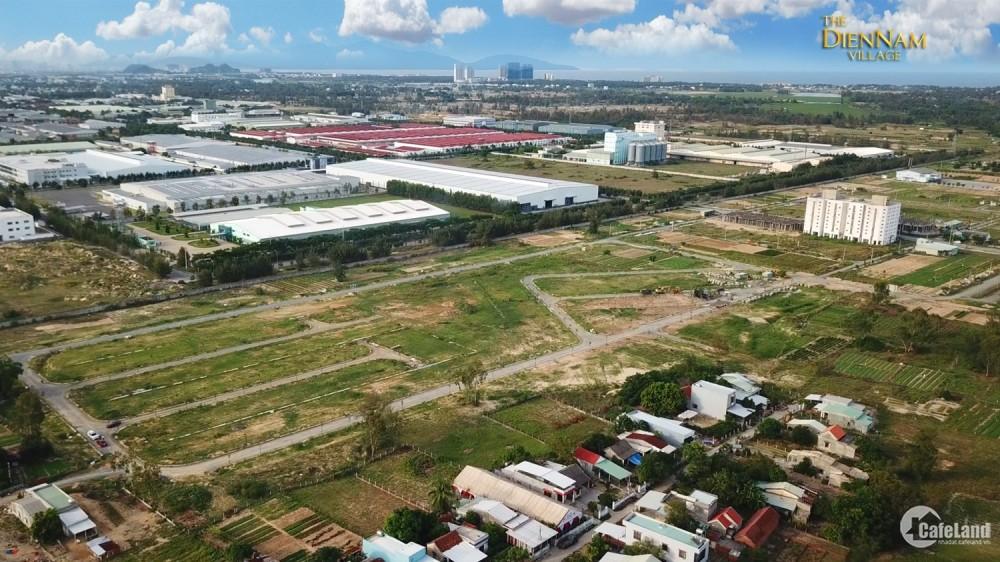 Cần bán lô Đất nền sổ đỏ lâu dài trung tâm Điện Nam, Điện Ngọc