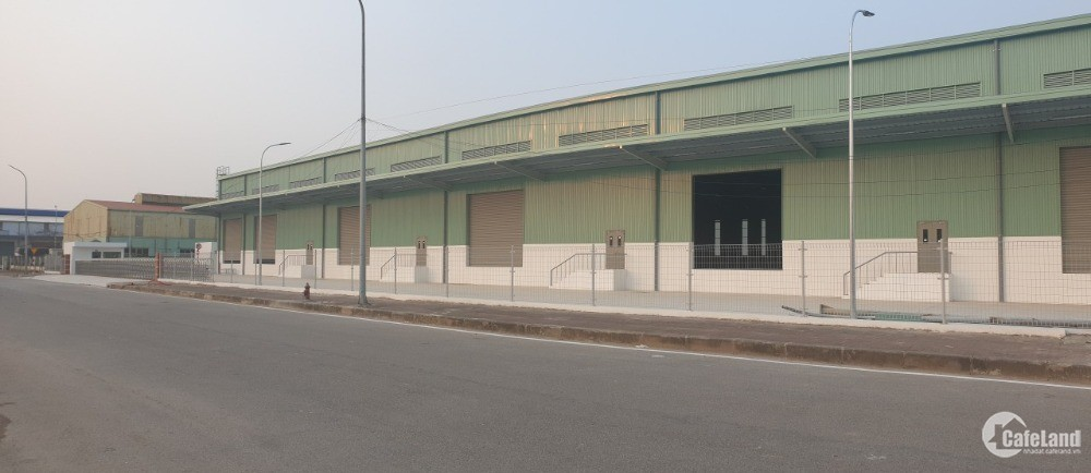Cho thuê kho xưởng đạt chuẩn 10.000m2 tại KCN Đài Tư, 386 Nguyễn Văn Linh,Hà Nội