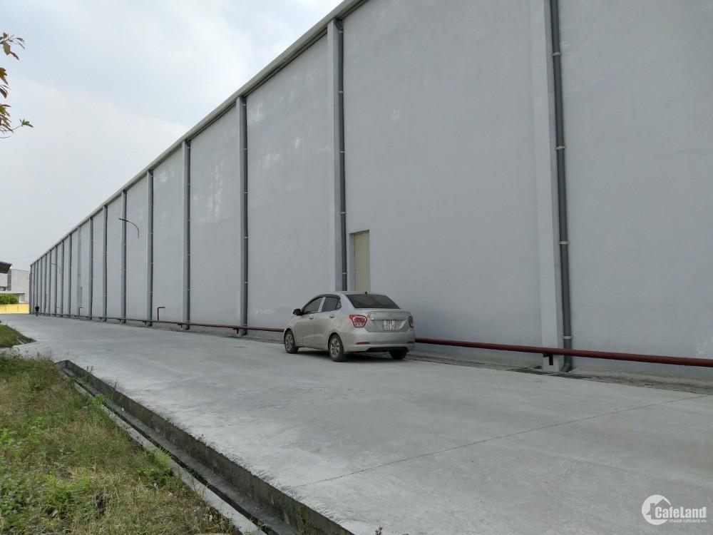 Cho thuê kho xưởng tại Yên Mỹ Hưng yên, Dt 2700m2 ,sàn epoxy, PCCC tự động,60k
