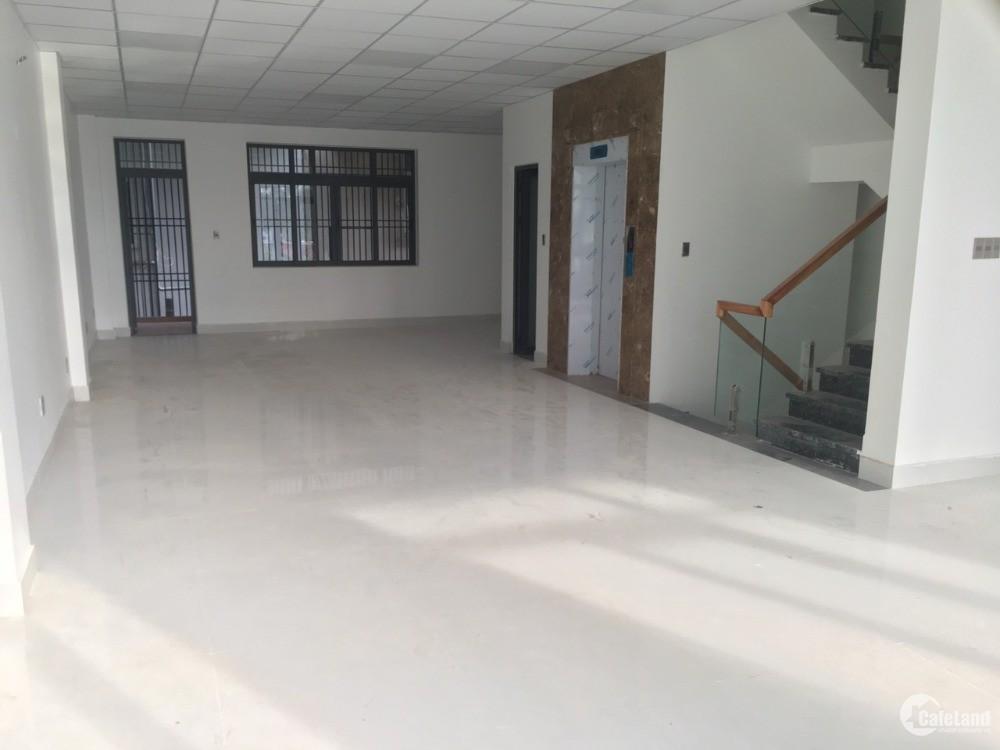 Cho thuê nhà đường D1 khu Him Lam,Q7: 7,5x20m,hầm, 3 lầu,kiến trúc VP: 78 triệu