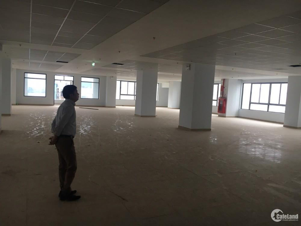 Cho thuê văn phòng tòa nhà Phạm Hùng, gần BigC Thăng Long. DT 910m2, giá 10$/m2