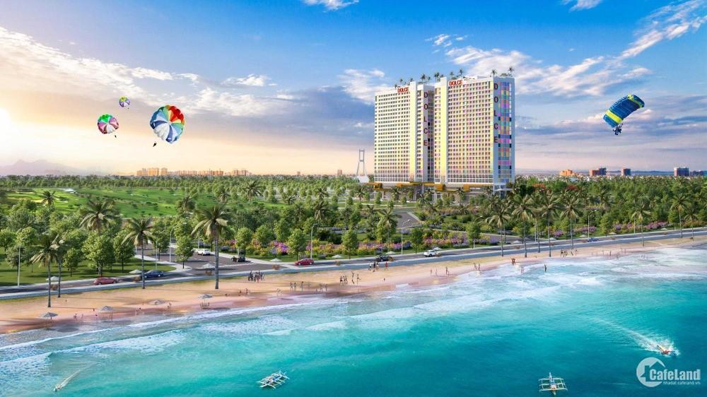 Căn hộ 6 sao Dolce Penisola view biển Bảo Ninh - hỗ trợ vay 50% - chiết khấu 16%